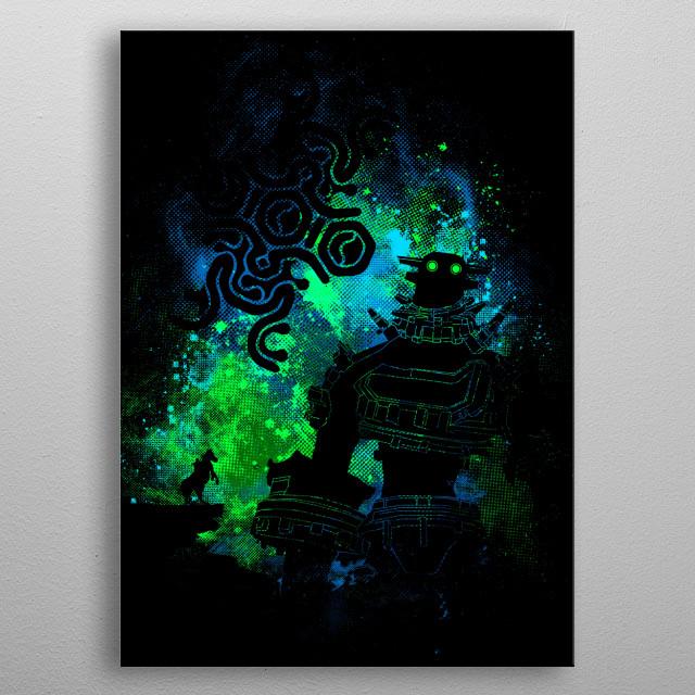 Colossus Art metal poster