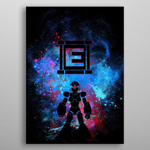 Mega Art metal poster