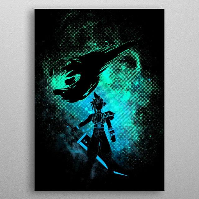 Ex-soldier Art metal poster
