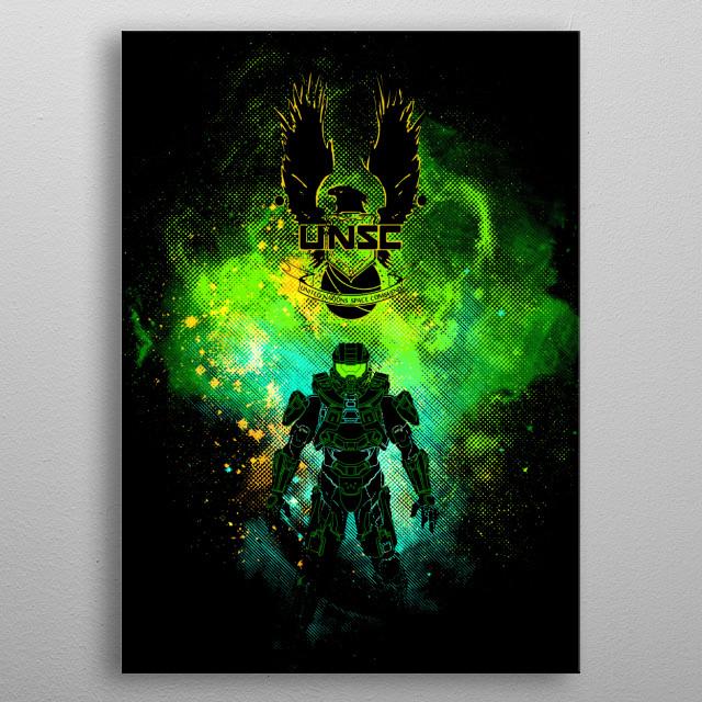 Unsc Art metal poster
