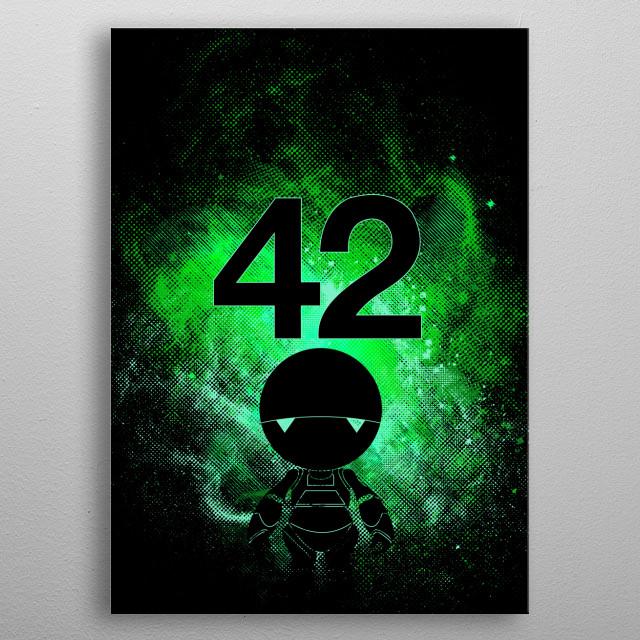 Galaxy Art metal poster