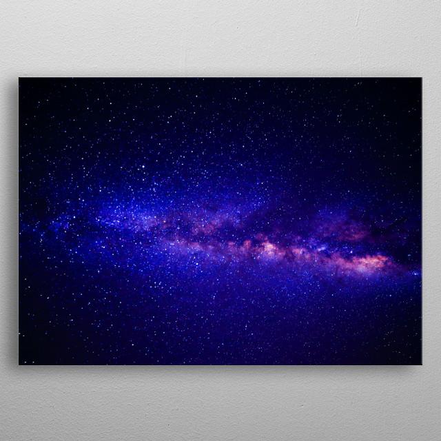 Andromeda Galaxy metal poster