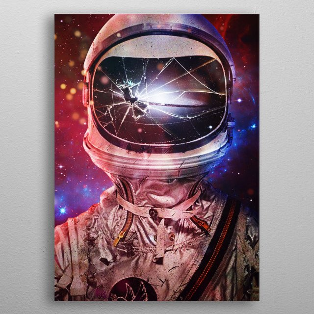 Continuous metal poster