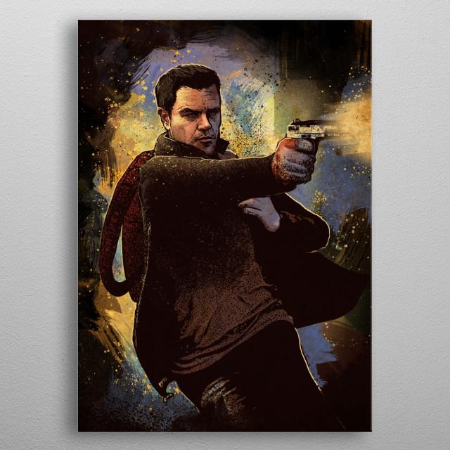 Jason Bourne metal poster