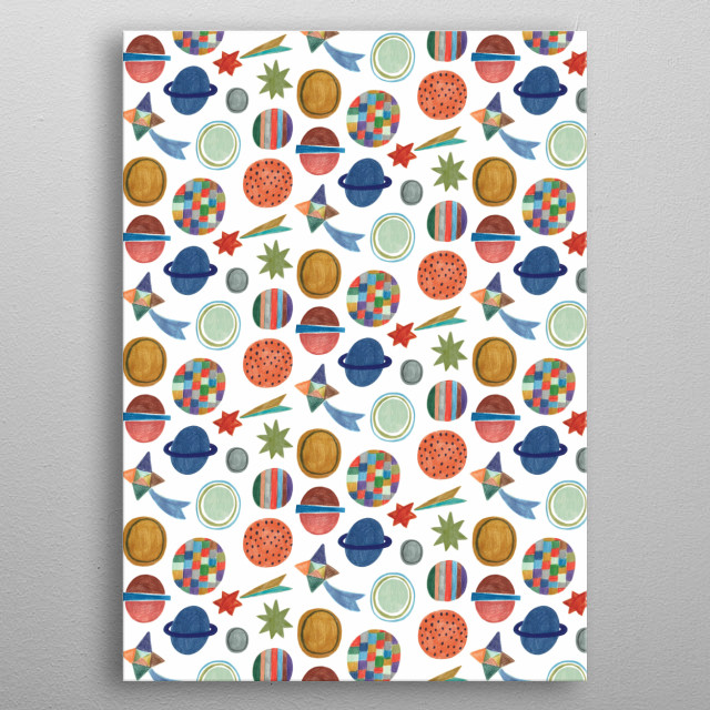 Fascinating  metal poster designed with love by dariasolakillustrations. Decorate your space with this design & find daily inspiration in it. metal poster