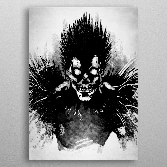 Bored Shinigami. metal poster