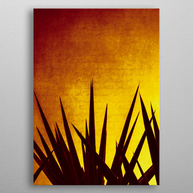 Fascinating  metal poster designed with love by dirkwuestenhagen. Decorate your space with this design & find daily inspiration in it. metal poster