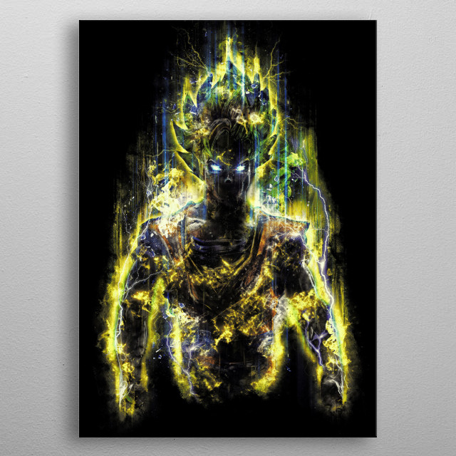 My first and most heroic powerful warrior art. The orig... metal poster