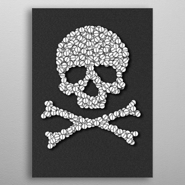 High-quality metal print from amazing Science Geekness collection will bring unique style to your space and will show off your personality. metal poster