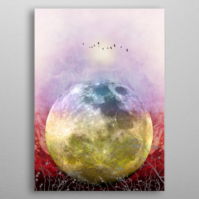 High-quality metal wall art meticulously designed by piaschneider would bring extraordinary style to your room. Hang it & enjoy. metal poster