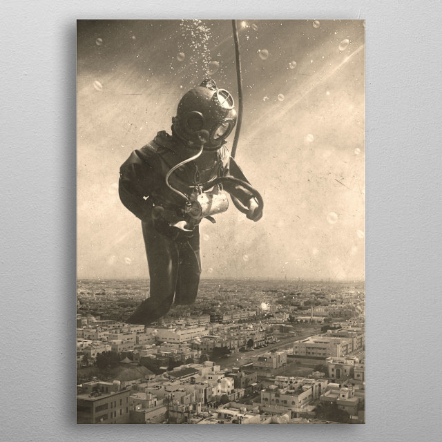 High-quality metal print from amazing Thought Of Organization collection will bring unique style to your space and will show off your personality. metal poster