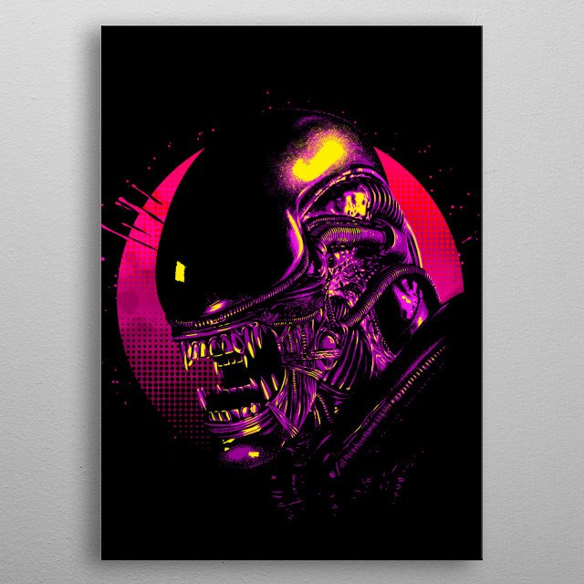 High-quality metal wall art meticulously designed by albertocubatas would bring extraordinary style to your room. Hang it & enjoy. metal poster