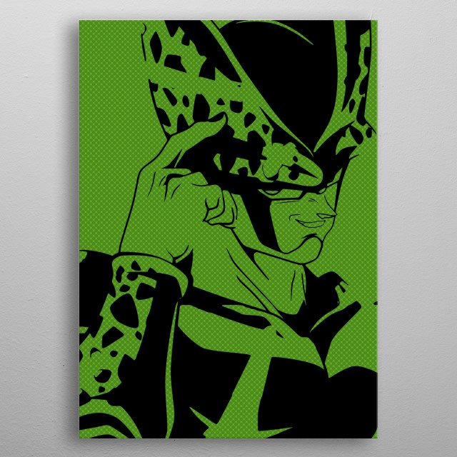 High-quality metal print from amazing Pop Art collection will bring unique style to your space and will show off your personality. metal poster
