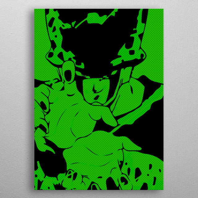 Cell 2 metal poster