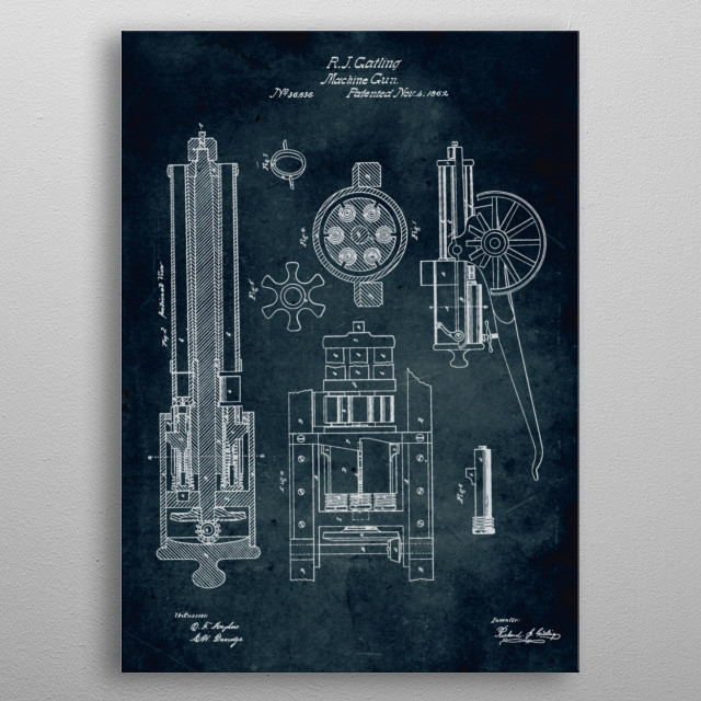 Fascinating metal poster designed by Xavier Vieira. Displate has a unique signature and hologram on the back to add authenticity to each design. metal poster