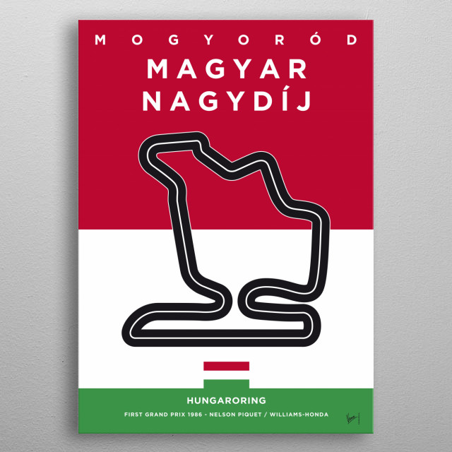 Tags: Limited, Edition, minimal, minimalist, poster, posters, affiche, artwork, trend, graphic, design, f1, formula, one, grand, prix, race, metal poster