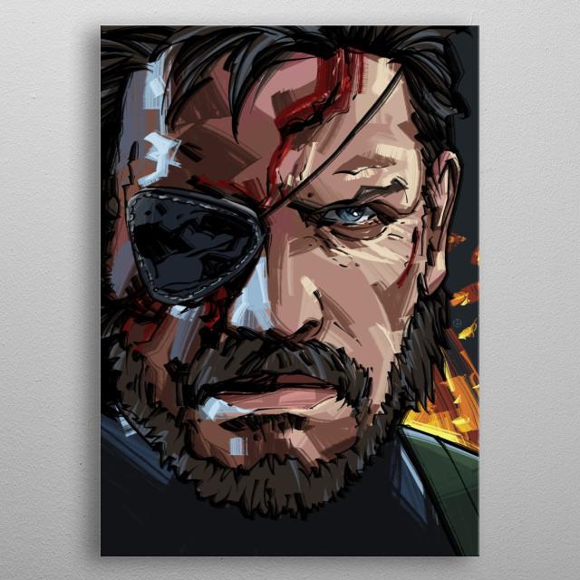 Snake Eater metal poster