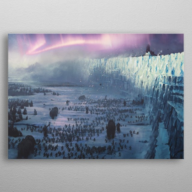 Game of Thrones: Watchers on the Wall metal poster