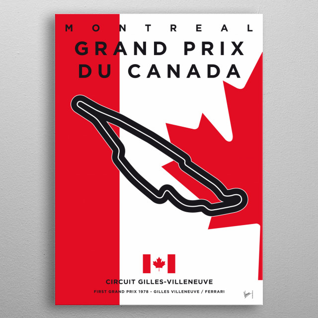 Awesome Minimalist Formula One Posters by   This stunning collection of minimalist Formula 1 posters is the work of Chungkong, a talented artist based out of Amsterdam who has fast become a favorite with fans of international motorsport.  Chungkong collection is currently lists 21 Formula 1 posters for sale covering every race on the 2017 calendar. metal poster