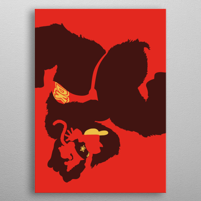 Who is that? Donkey Kong metal poster