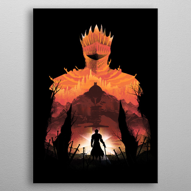Time to praise the sun metal poster
