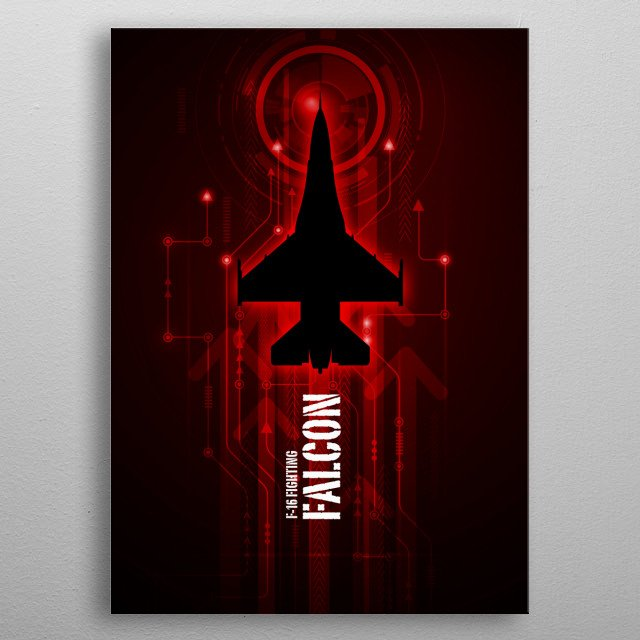 This marvelous metal poster designed by airpowerart to add authenticity to your place. Display your passion to the whole world. metal poster