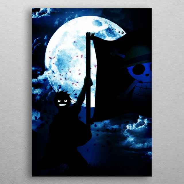 High-quality metal print from amazing Manga Heroic collection will bring unique style to your space and will show off your personality. metal poster