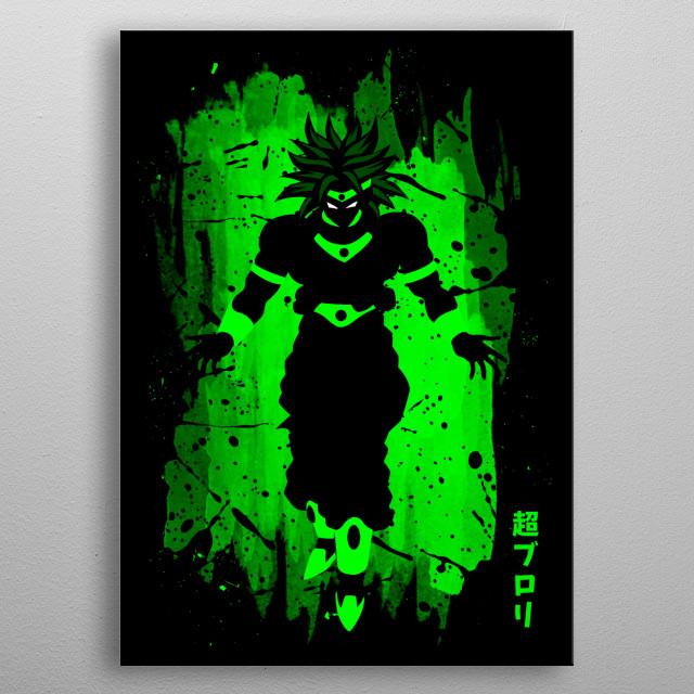 Infinite power metal poster