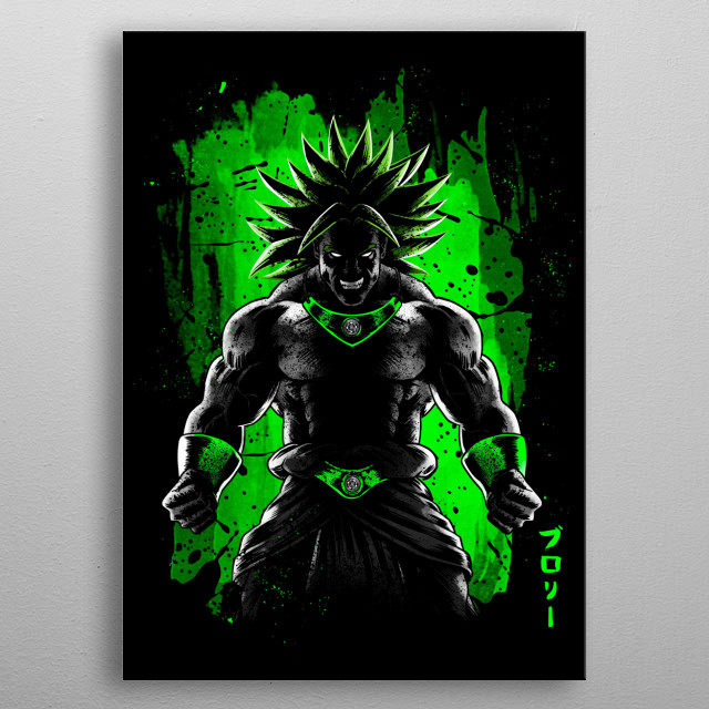 Stain power metal poster