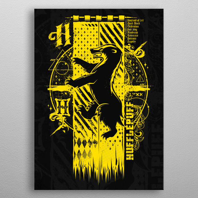 Magic H Banner... metal poster