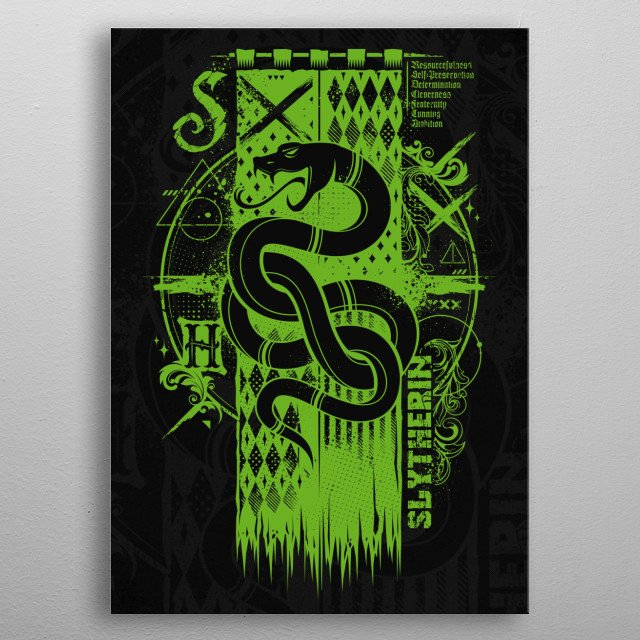 Magic S Banner... metal poster