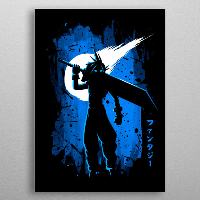 Fantasy Stain metal poster