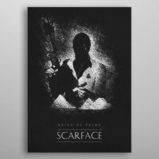 Scarface metal poster