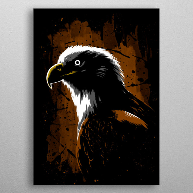 Eagle Stain metal poster