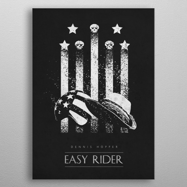 Easy Rider metal poster
