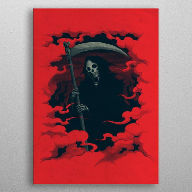 Mort metal poster