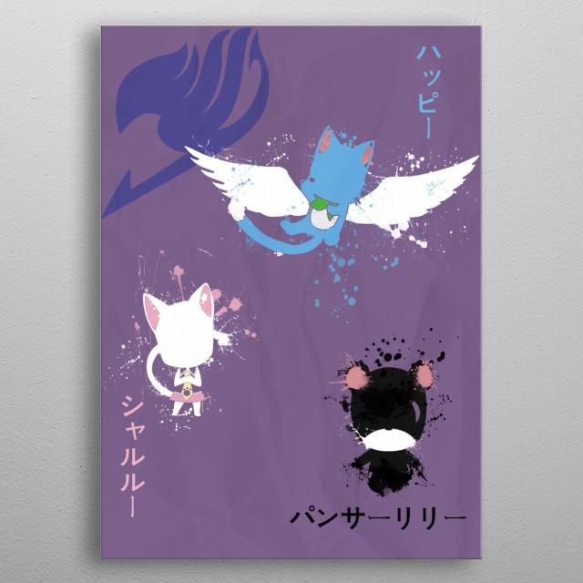 Spirit Exceed metal poster
