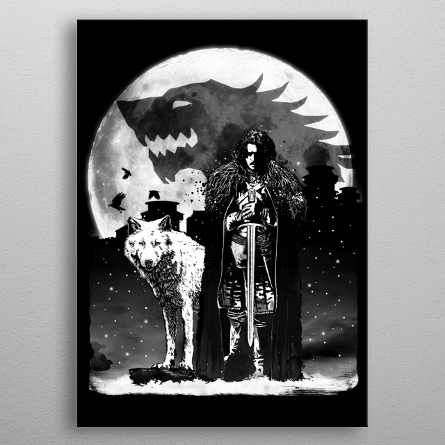Fascinating metal poster designed by Antonio Camarena. Displate has a unique signature and hologram on the back to add authenticity to each design. metal poster