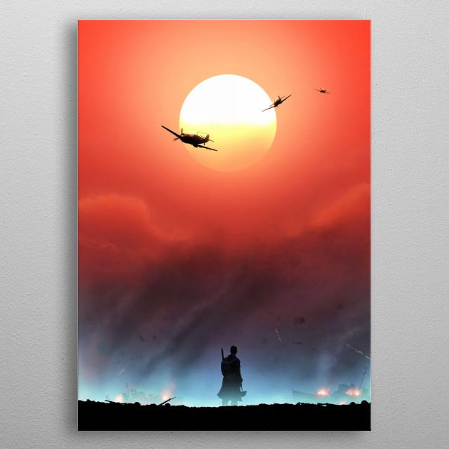 Dunkirk metal poster