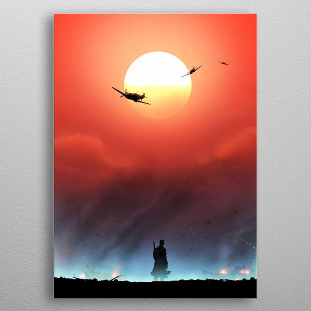 High-quality metal print from amazing Film collection will bring unique style to your space and will show off your personality. metal poster