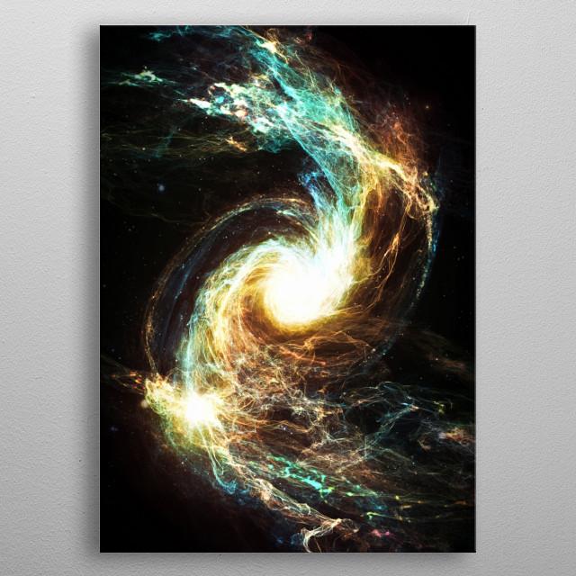 Distant Glow metal poster