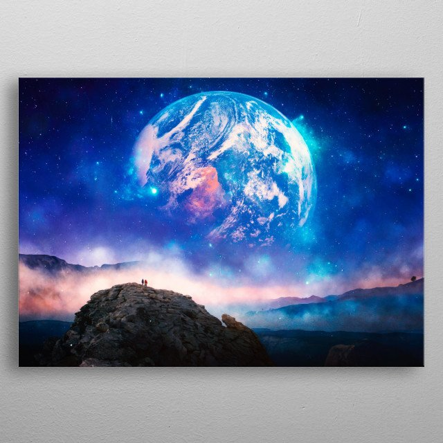 High-quality metal wall art meticulously designed by thggarcia would bring extraordinary style to your room. Hang it & enjoy. metal poster