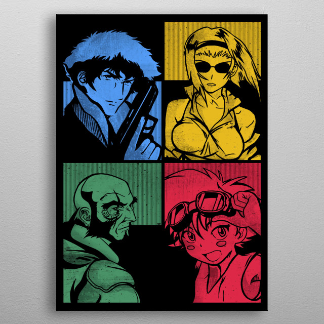 See you space cowboy - The crew  metal poster