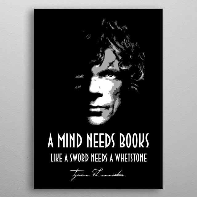 Tyrion Lannister v1.0 metal poster