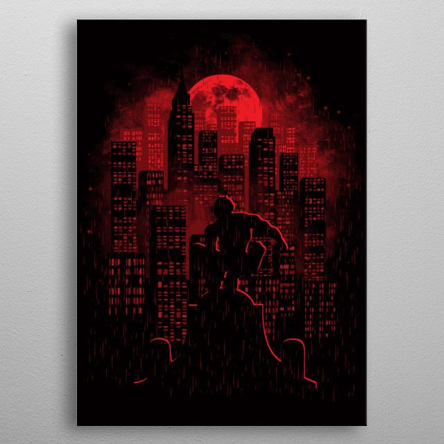 City Of Devils metal poster