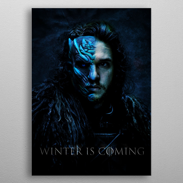 Illustration - PhotoMontage - Game of Thrones metal poster