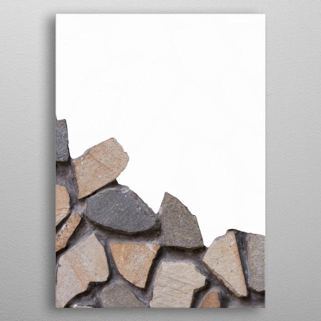 rustic wall metal poster