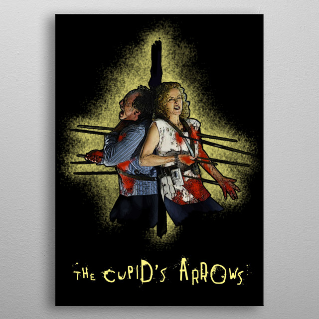 SAW - The Cupid's Arrows metal poster