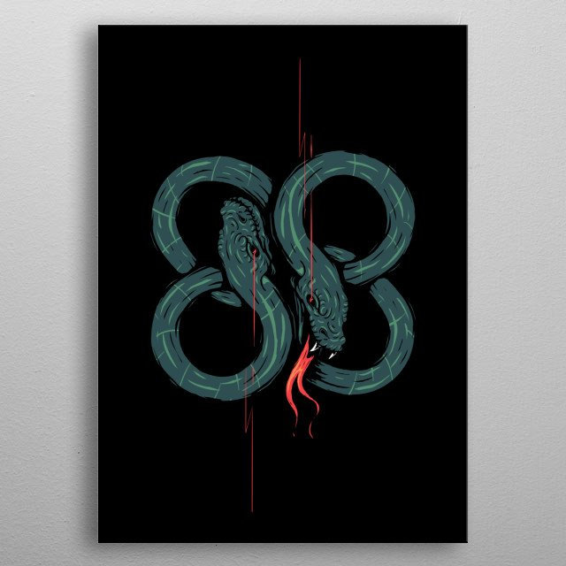 Fascinating metal poster designed by Steven Toang. Displate has a unique signature and hologram on the back to add authenticity to each design. metal poster