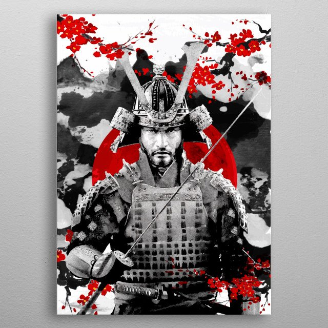 High-quality metal print from amazing Japanese collection will bring unique style to your space and will show off your personality. metal poster